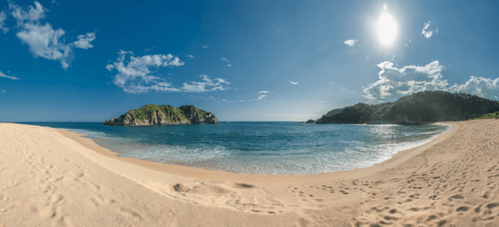 The charm of the Oaxacan coast